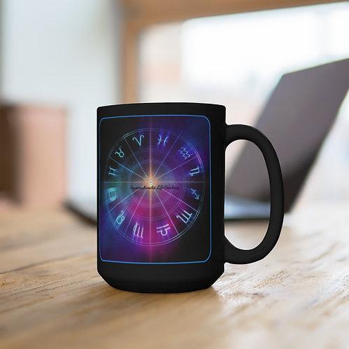 Astrology -  Black Coffee Mug