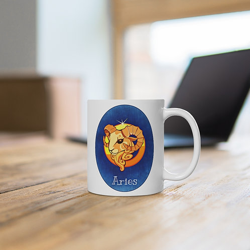 Aries - Zodiac Sign Coffee Mug