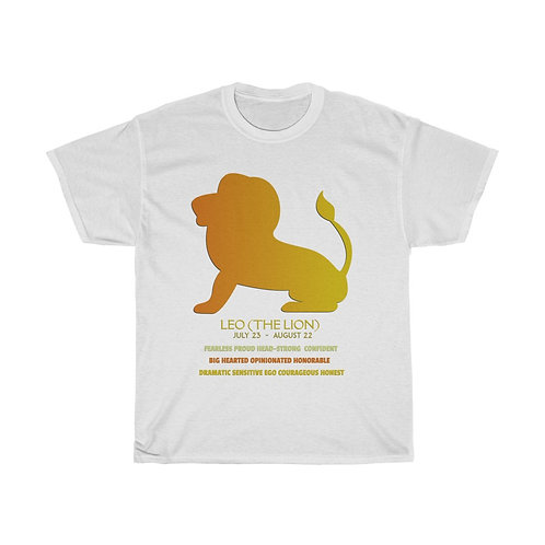 Leo - Unisex Heavy Cotton Tee