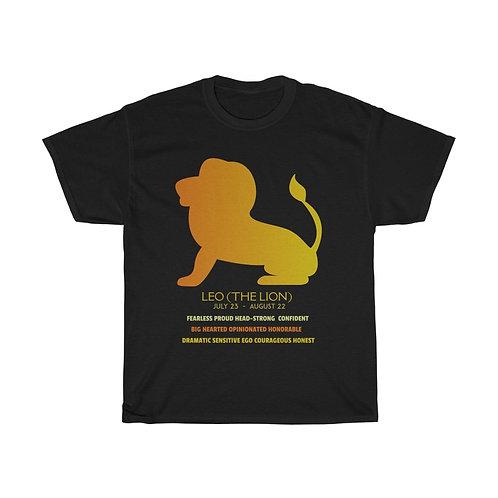 Leo - Unisex Zodiac Sign T-Shirt