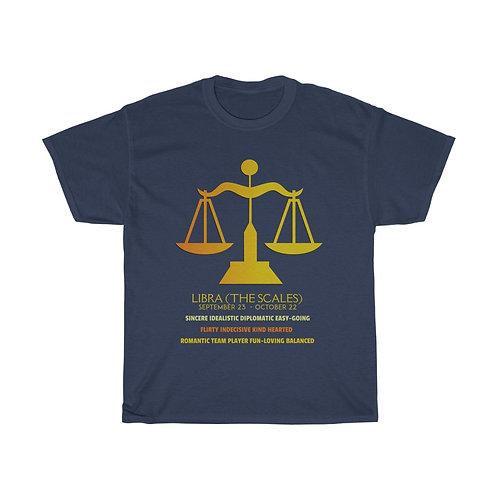 Libra - Unisex Zodiac Sign T-Shirt