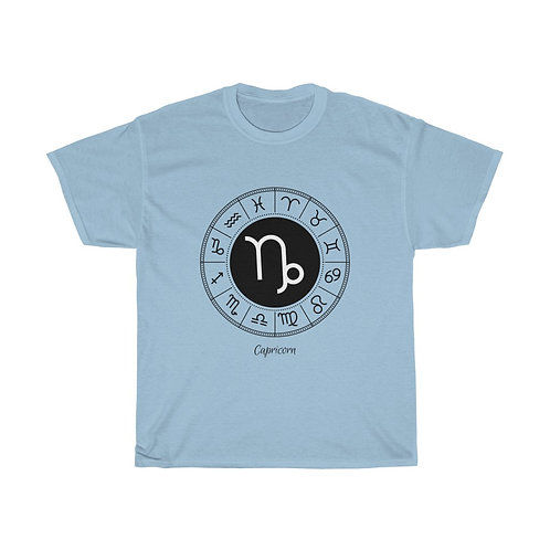 Capricorn Zodiac Sign T-Shirt - Unisex