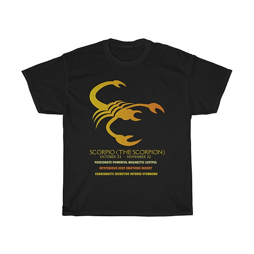 Scorpio - Unisex Heavy Cotton Tee