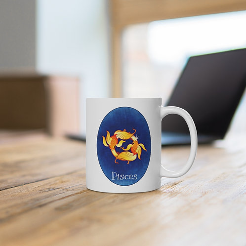 Pisces - Zodiac Sign Coffee Mug
