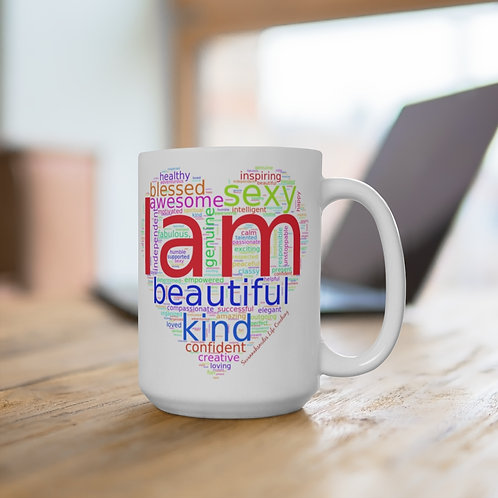 """I AM"" - White Coffee Mug"