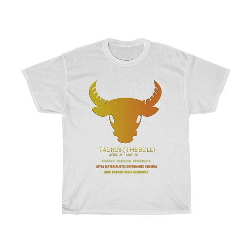 Taurus - Unisex Zodiac Sign T-Shirt