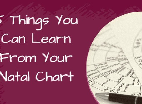 5 Things You Can Learn From Your Natal Chart