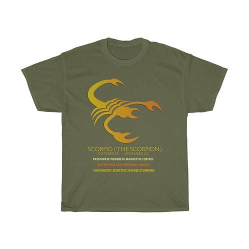 Scorpio - Unisex Zodiac Sign T-Shirt