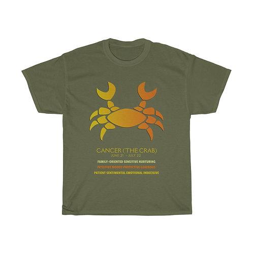 Cancer - Unisex Zodiac Sign T-Shirt