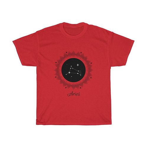 Aries Zodiac Sign T-Shirt - Unisex