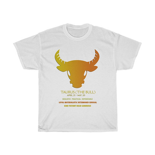 Taurus - Unisex Heavy Cotton Tee
