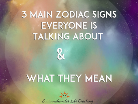 3 Main Zodiac Signs Everyone Is Talking About & What They Mean
