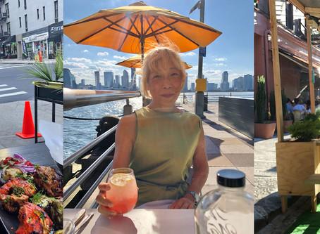 屋外ダイニングとキャッシュレス決済で生き延びようとしているニューヨークのレストラン業界