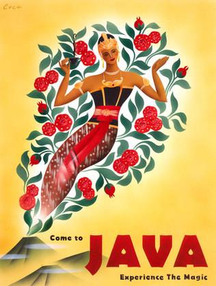 ジャワ島にようこそ