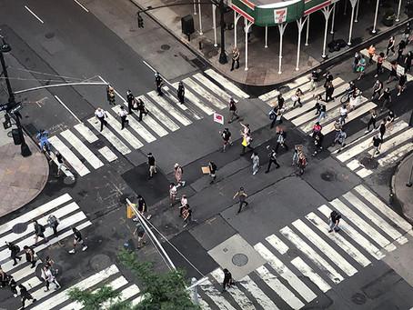 ニューヨークも私の生活も刻々と変化しています。