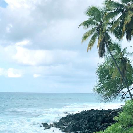 すみません、ハワイ島に来ています。