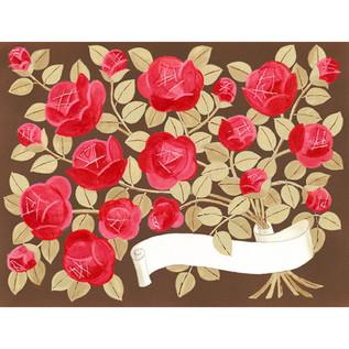 薔薇の枝の束