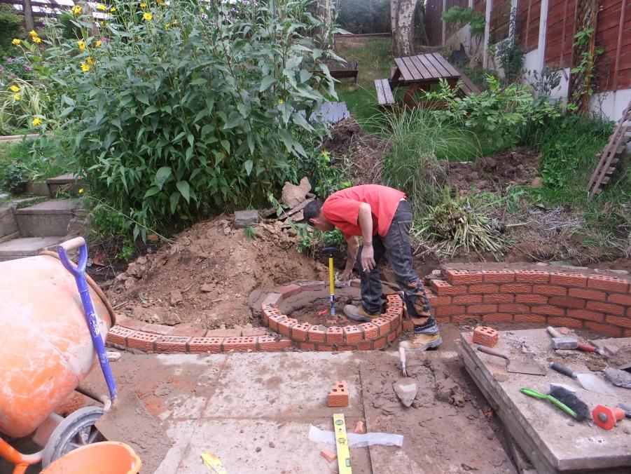 progress pond wall