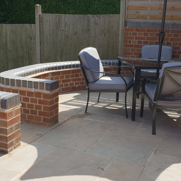 Patio Curved