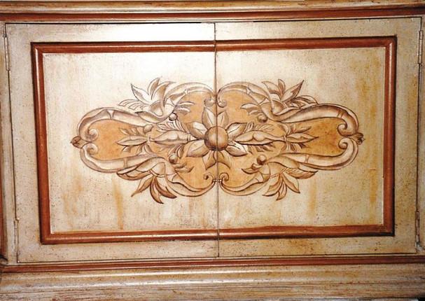 Vieillissement d'un meuble neuf - style XIXème