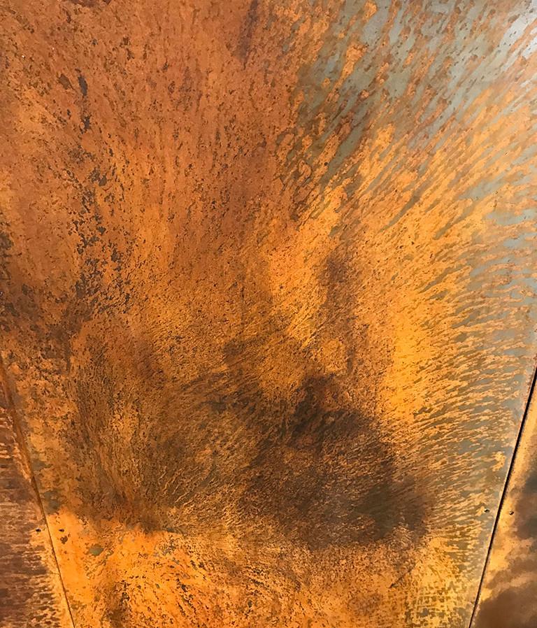 Texture effet corrodé cloison - Détail 002