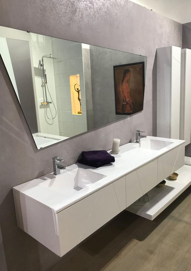 Appt-Appt design contemporain - Vue vasques