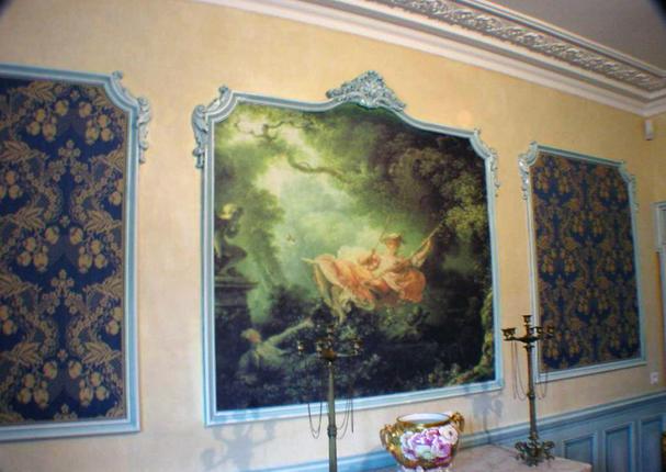 Restauration de fresques murales