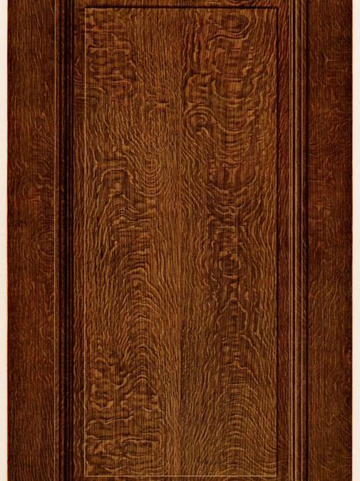 Trompe-l'oeil faux bois - Chêne
