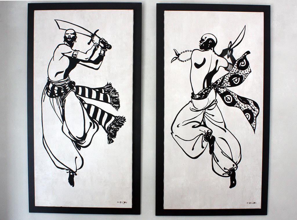 Figuratif - Danseurs aux sabres