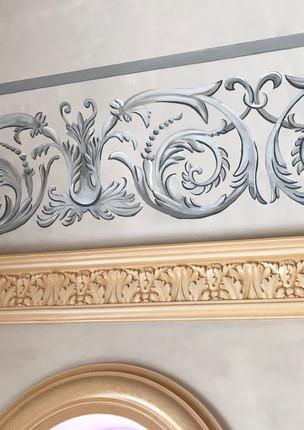 Frise murale chapelle