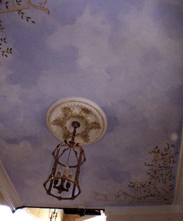 Plafond paysagé typé XIXème 001