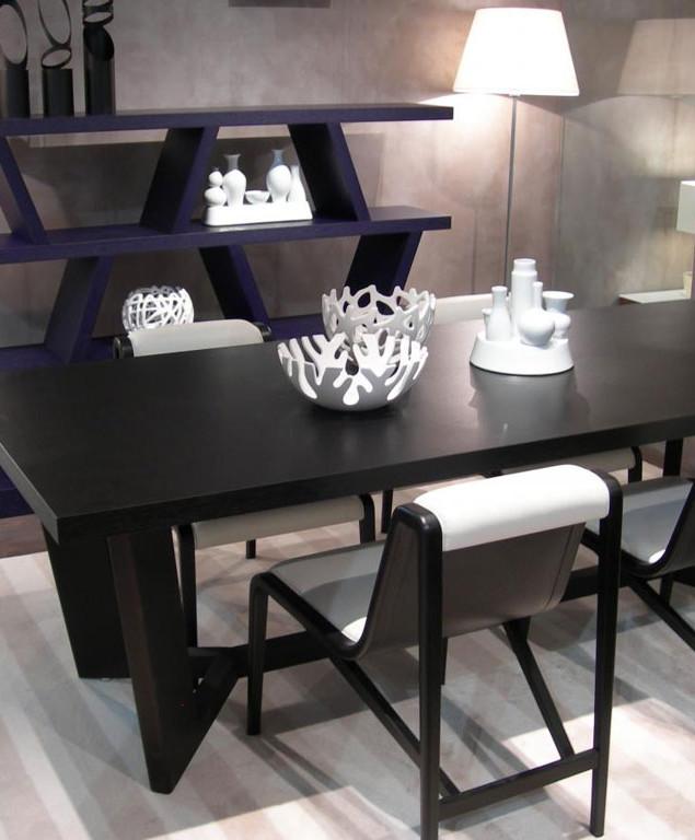 Appt design contemporain - Vue salle à manger