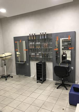 Aménagement salon de coiffure