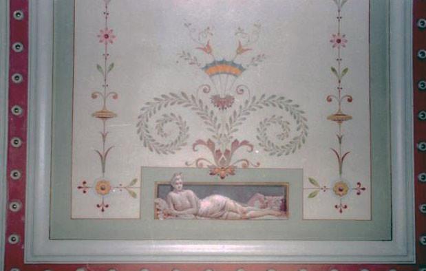 Rénovation du plafond, Mairie de Fleurie (69)  - 2ème prix du Patrimoine Rhône-Alpes
