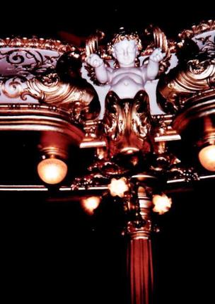 Restauration de dorures à la feuille - Théâtre des Célestins, Lyon