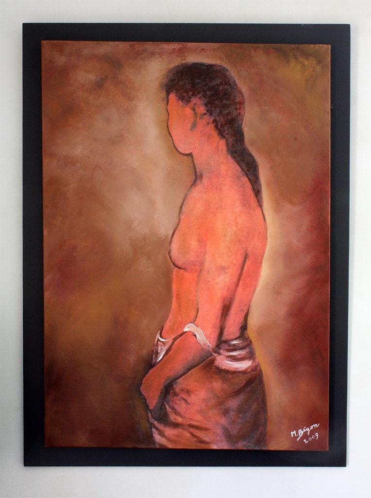 Figuratif - Femme dénudée