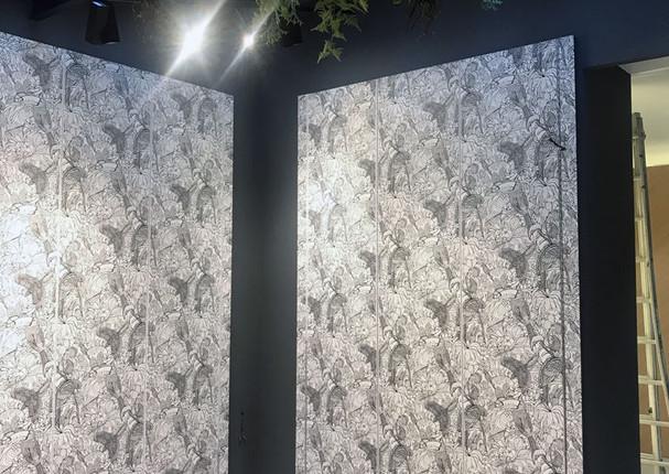 Murs paysagés - Concept Store Prêt-à-porter