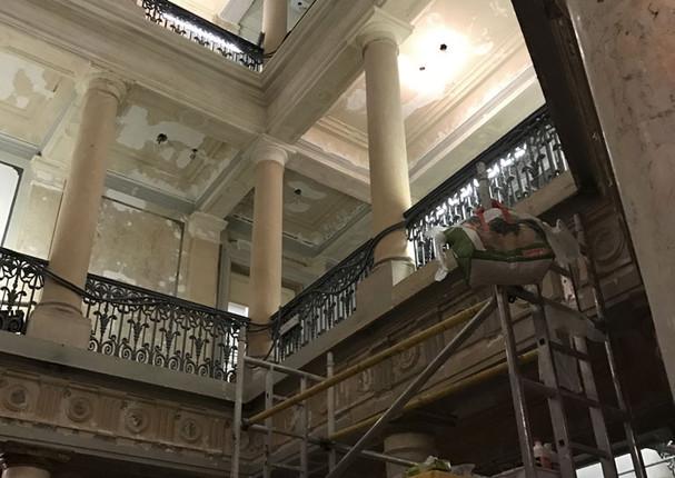 Préparation du chantier Banque de France