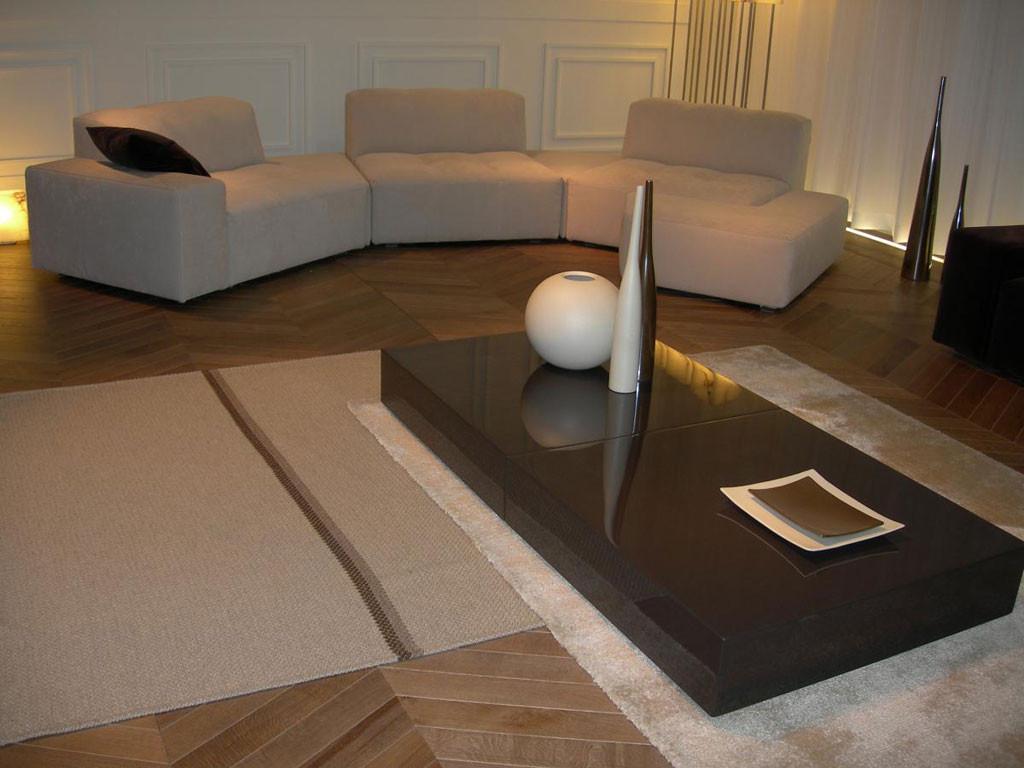 Appt design contemporain - Vue salon
