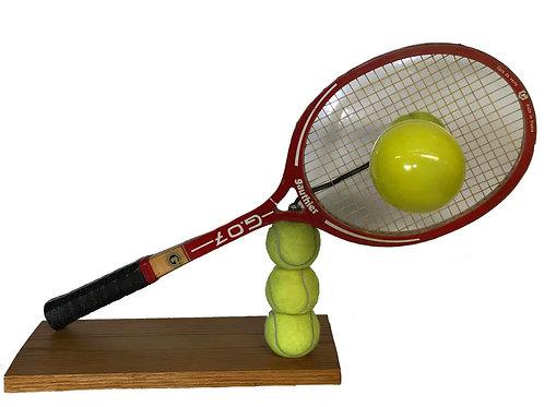 On joue au tennis...