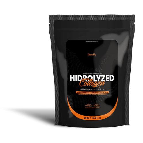 Colágeno Hidrolizado con Té Verde, Té Negro y Spirulina (Controla tu peso)