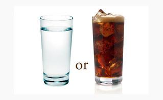 Bebidas sin azúcar.