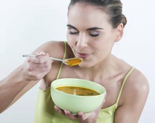 Comer sopa