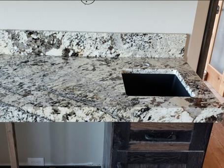 Granite  Color - White Persa