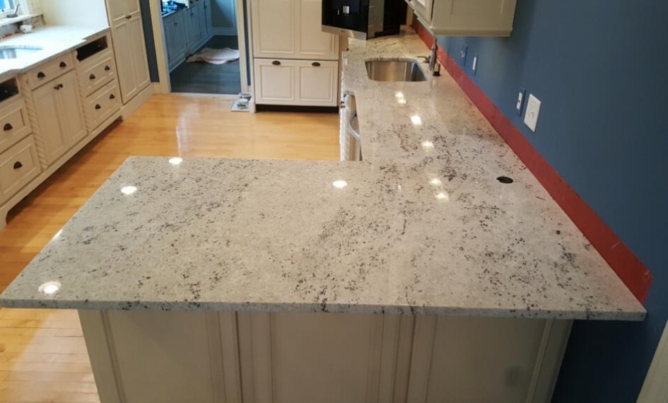 Granite  Color - Colonial White