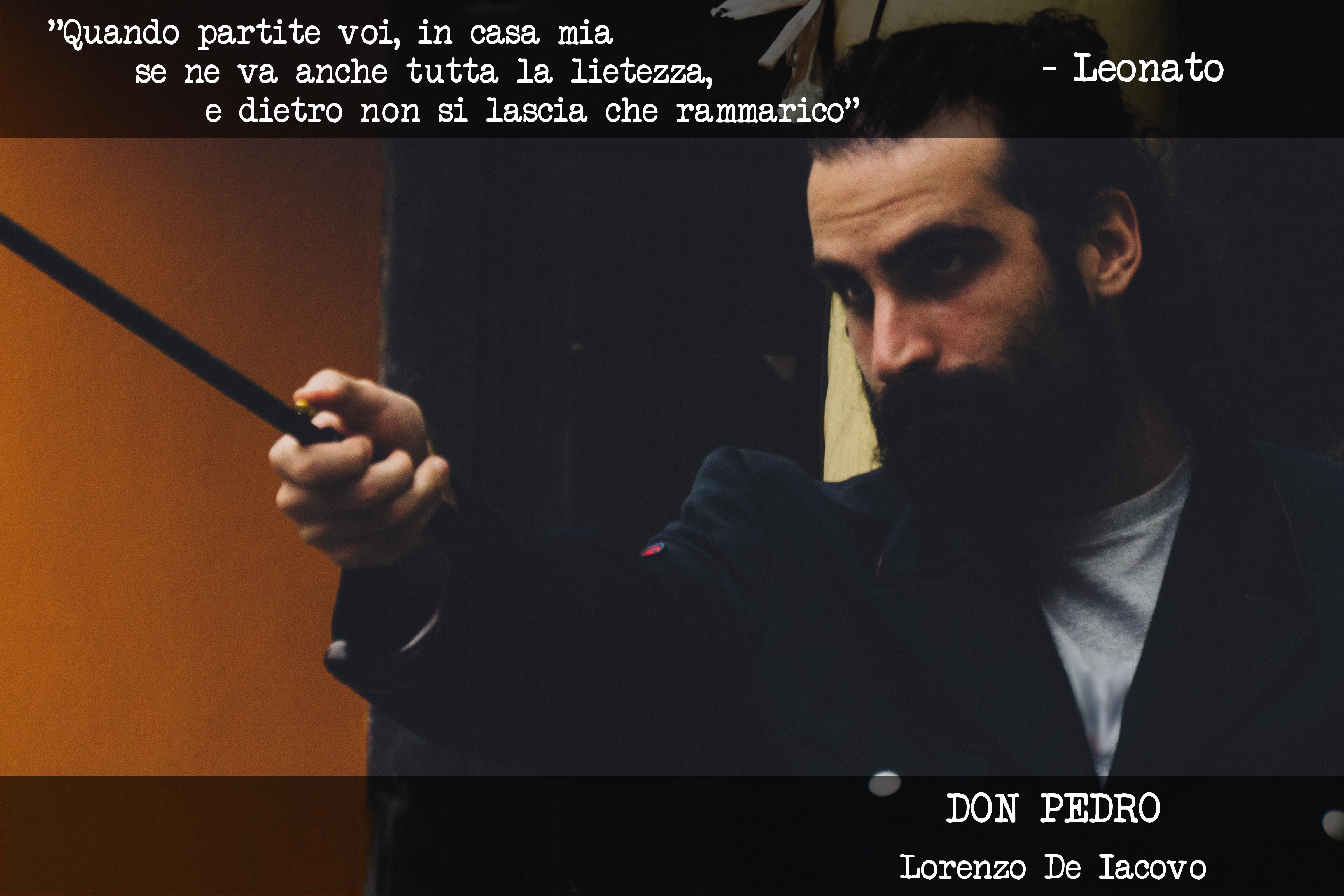 DONPEDRO - Lorenzo De Iacovo