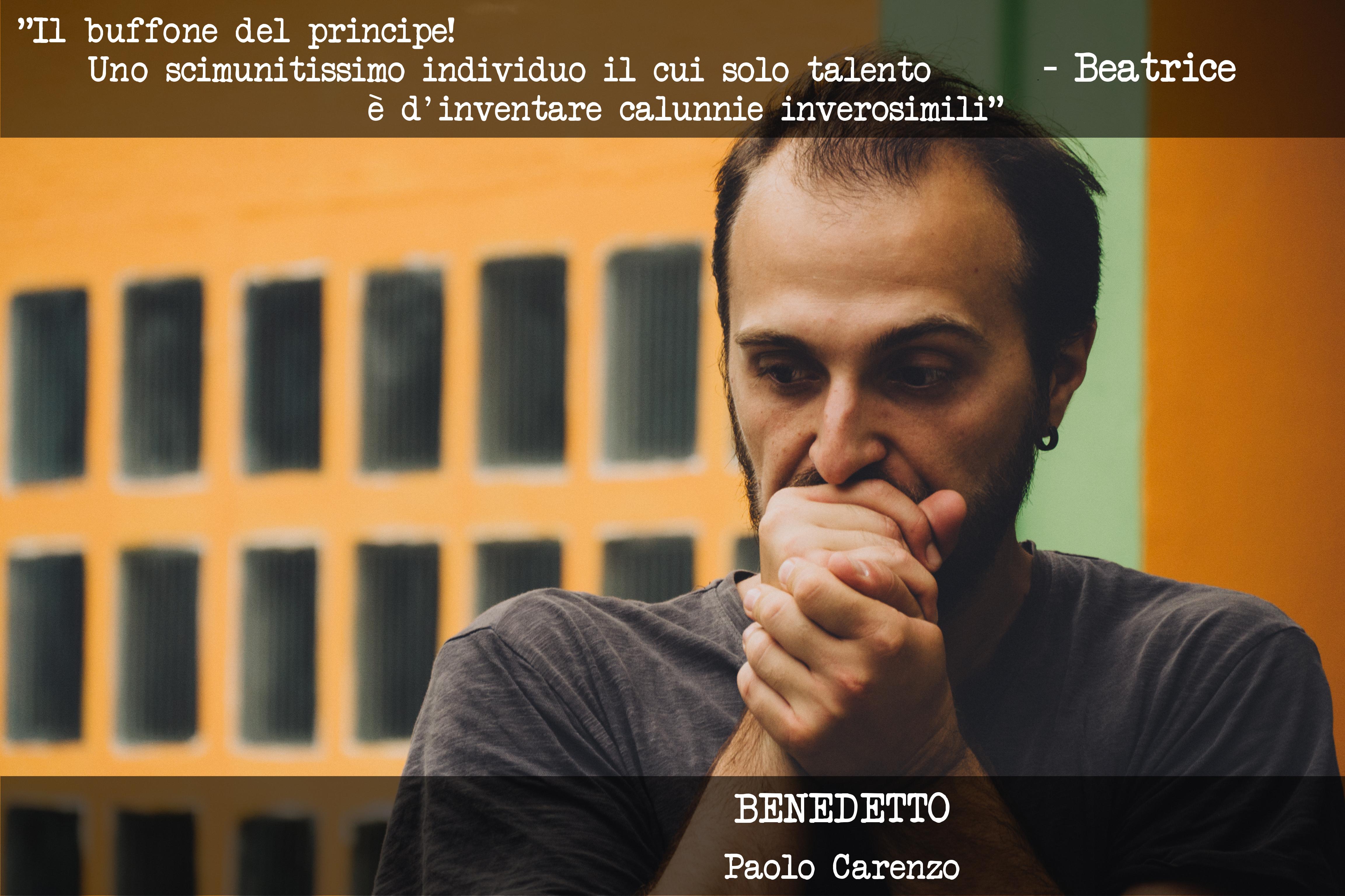 BENEDETTO - Paolo Carenzo