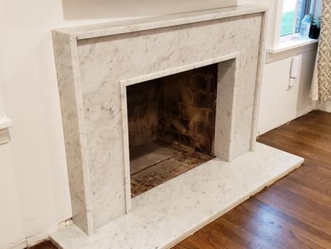 White Carrara Marble - Honed Finish