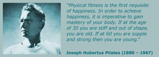 Joseph Hubertus Pilates - izumitelj vadbe pilates
