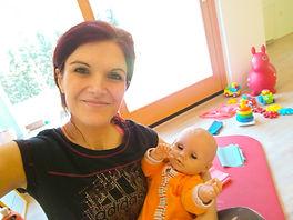 fitmami in dojenček